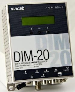 DIM-20 AV-COFDM RF-modulator för DVB-T