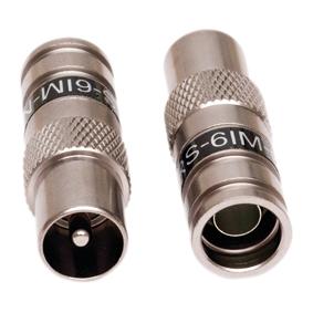 PCT IEC kompression-kontakt för RG6-kabel