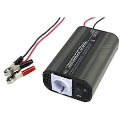 Inverter 12-230 Volt 600 Watt modifierad våg USB