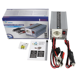 Inverter 24-230 Volt 300 Watt modifierad våg USB