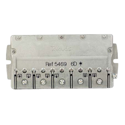 5469 F-smart PRO splitter 1:6 DC-PASS