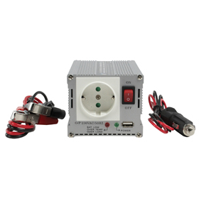 Inverter 12-230 Volt 300 Watt modifierad våg USB