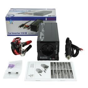 HQ Inverter 12/24-230 Volt 350 Watt modifierad våg USB