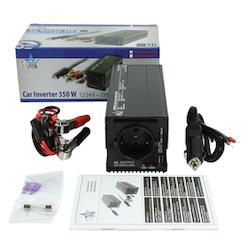 Inverter 12/24-230 Volt 350 Watt modifierad våg USB