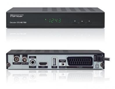 Opticum HD T90 Fribox för marknätet med HDMI