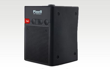 Pinell Go Radio FM, DAB, DAB+ SVART