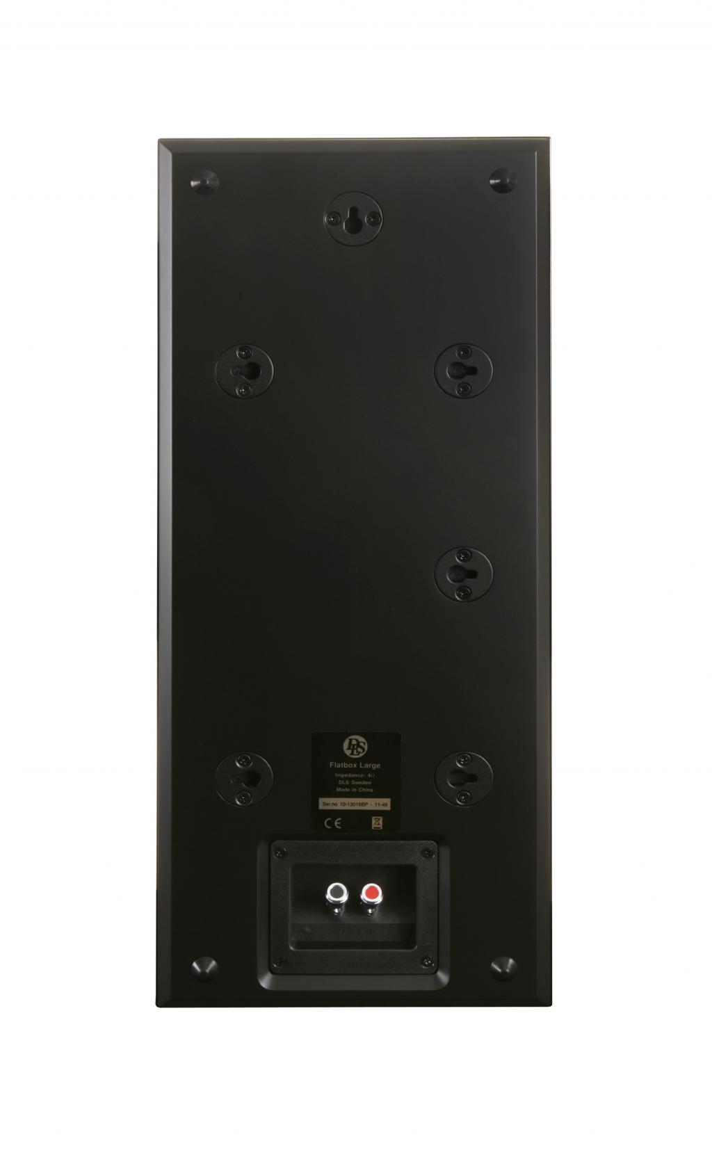 DLS FLATBOX Large-V2 Svart
