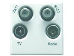 Modul, Quad, UHF-FM/DAB-SAT1-SAT2