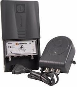 Matförstärkare med nätdel UHF LTE 15-35dB