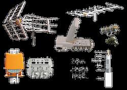 Antennpaket problemlösaren Super Turbo Kombi Deluxe