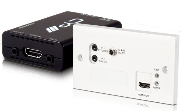 CYP/// HDMI över Singel Cat 5e/6/7 med IR