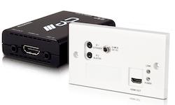HDMI över Singel Cat 5e/6/7 med IR