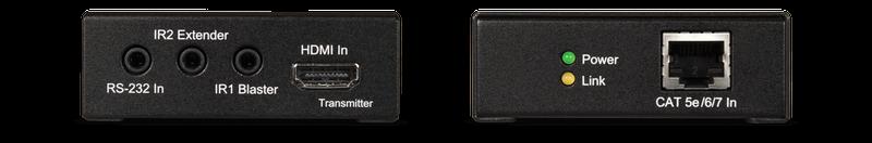 CYP/// HDMI  extender över Cat6, HDBaseT™, RS232, IR, PoE