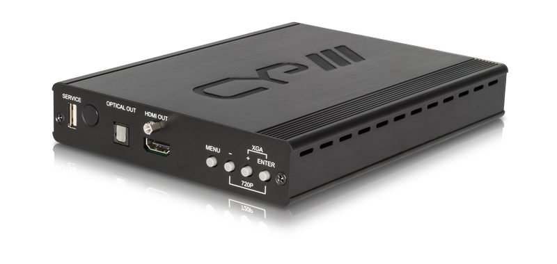 CV/PC över HDBaseT med scaler