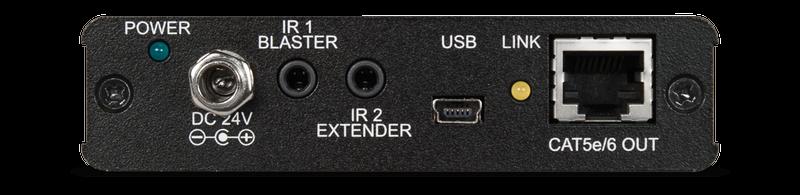 HDMI extender över nätverkskabel med lokal HDMI