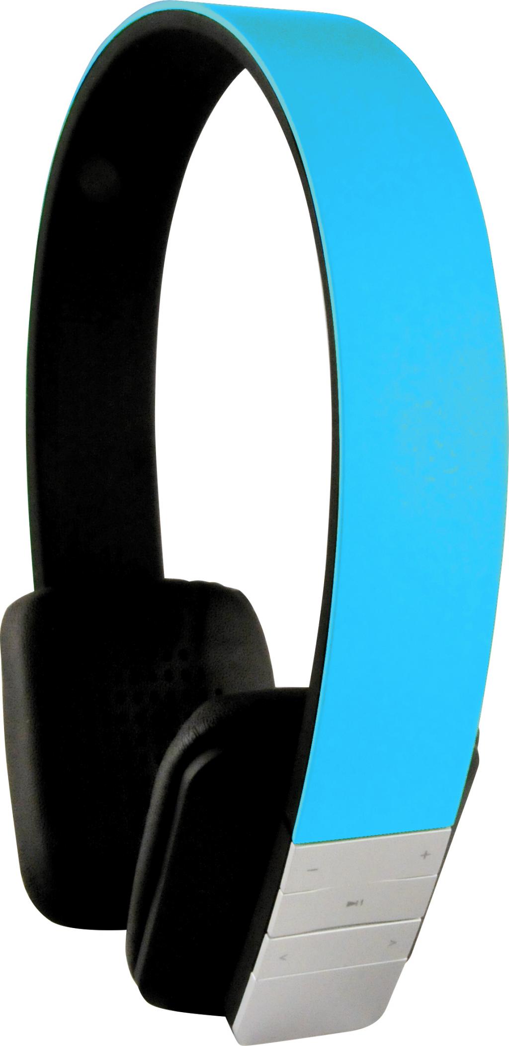 Schwaiger KH200 BTB Bluetooth hörlur GRYMT LJUD BLÅ