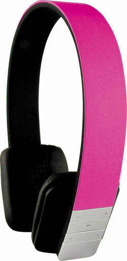 KH200 BTP Bluetooth hörlur GRYMT LJUD ROSA