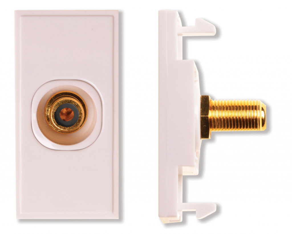 HDconnect Modul RCA till F-kontakt diskret