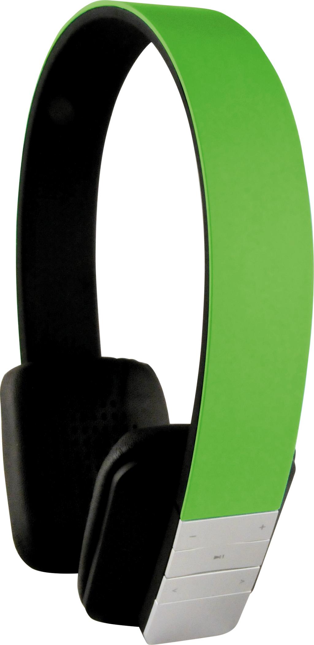 Schwaiger KH200 BTG Bluetooth hörlur GRYMT LJUD GRÖN