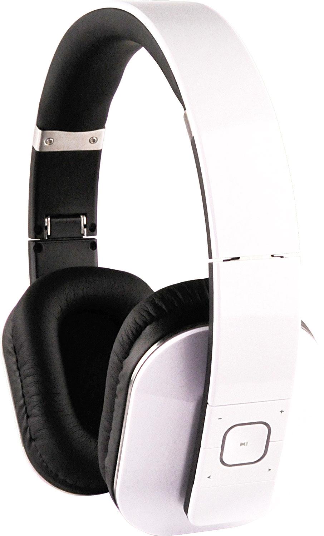 Schwaiger KH600 BTW Bluetooth hörlur GRYMT LJUD VIT