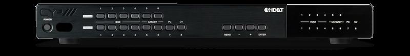 CYP/// Presentations switch med bl.a HDBaseT, HDMI & VGA