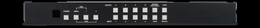 4x4 Matris för video väggar