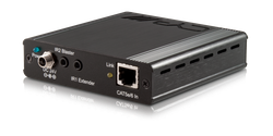 HDMI mottagare över singel kabel med 4K, Bi-di PoE, RS232, IR