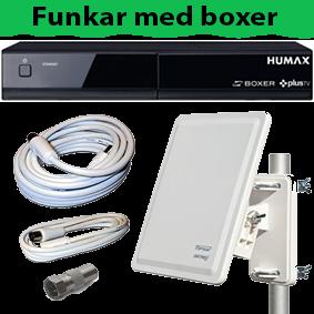 Kabel-TV paket släckning Göteborg BOXER HD