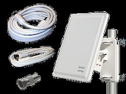 Antenn paket till TV med inbyggd mottagare