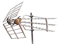 DAT-HD 75 aktiv antenn med LTE skydd
