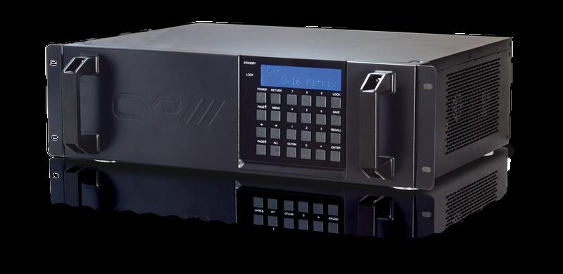 8x16 HDMI HDBaseT Matris, RS232, IR, 60 meter