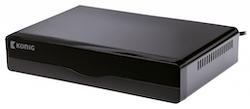DVB-T2 mottagare av de fria kanalerna ink. HD kanaler.