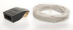 Vinklad HDMI kabel med avtagbar kontakt 1m