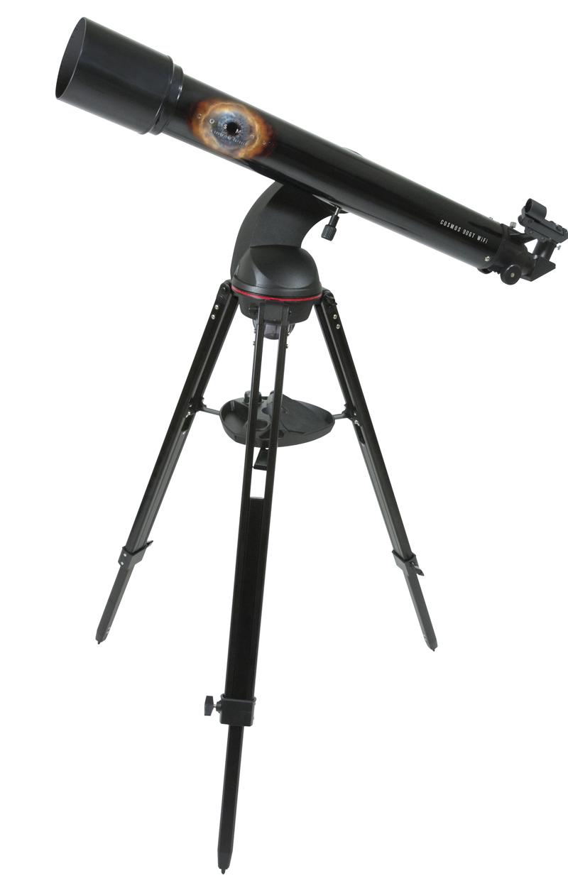 "Cosmos 90GT Wifi Teleskop / stjärnkikare ""go to"""