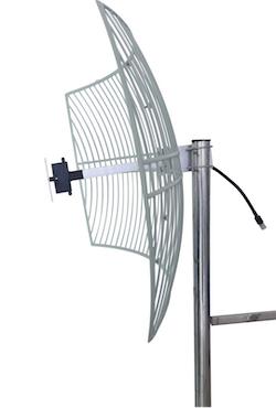 Donörantenn Grid parabol för 3G repeaters 21 dB förstärkning
