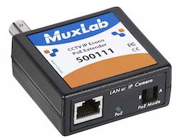 CCTV IP PoE förstärkare över Coax nät