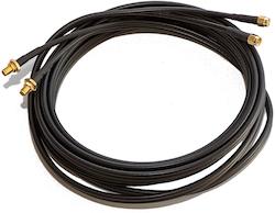 Förängningskabel antenn TWIN 5 meter SMA hane-hona