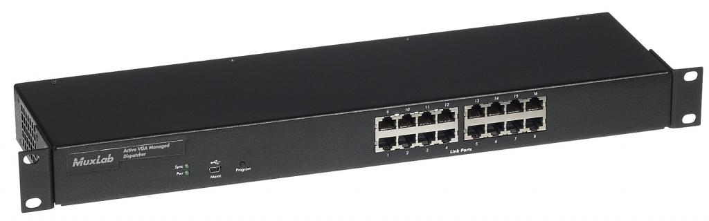 Aktiv VGA Managed Dispatcher 16p