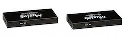 HDMI extender kit med Bi-directional IR