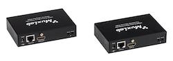HDMI Mono Extender Kit med HDBT, UHD-4K och IR, 70m