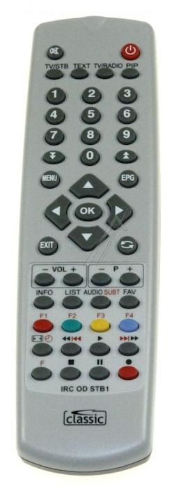 Ersättningsfjärrkontroll för SRT8700 Viasat