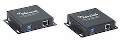 HDMI över IP nätverk mottagare, PoE, 100 m