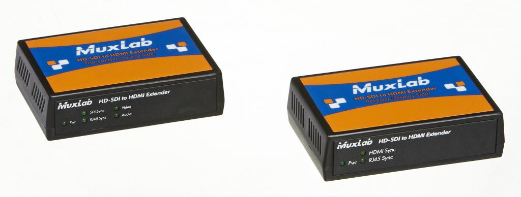 Muxlab 3G-SDI till HDMI förlängningskit