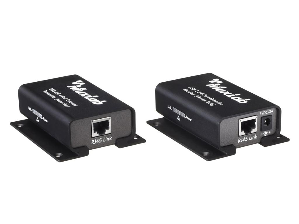 Muxlab USB 2.0 4-port förlängningskit