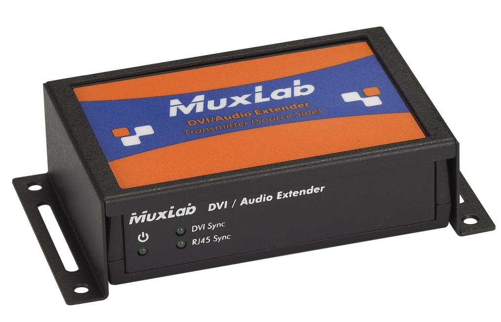 Muxlab Monteringsram för transceivers, vägg / plan yta