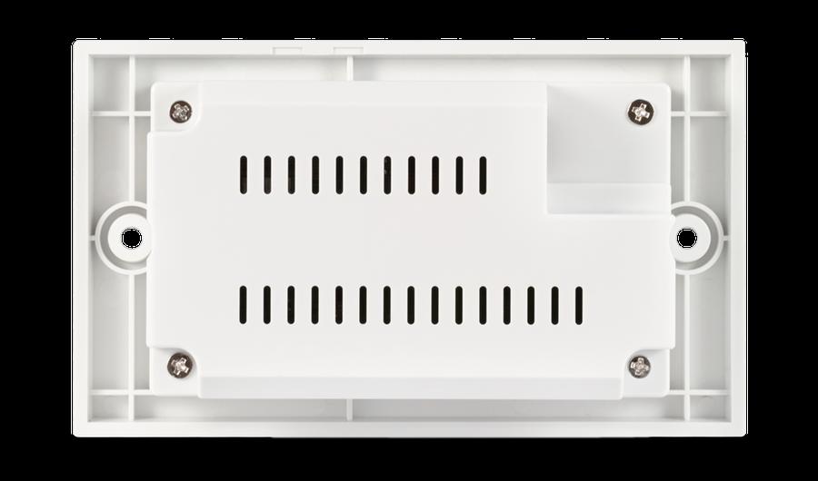 CYP/// HDBaseT Lite Wallplate mottagare. 4K, PoC, RS232, IR, 60 meter