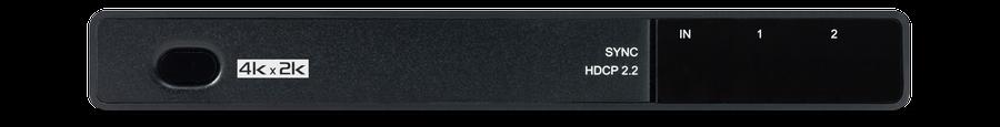 CYP/// HDMI splitter 1in 2ut, 4K, HDCP 2.2, HDMI v1.4