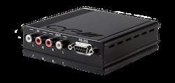 Dubbelriktat Analogt Stereo Ljud, Sändare, RS232, PoE