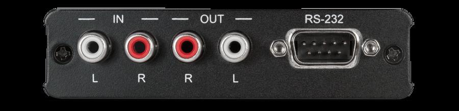 CYP/// Dubbelriktat Analogt Stereo Ljud, Sändare, RS232, PoE