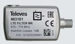 LTE-57 LTE/4G filter för inomhusbruk